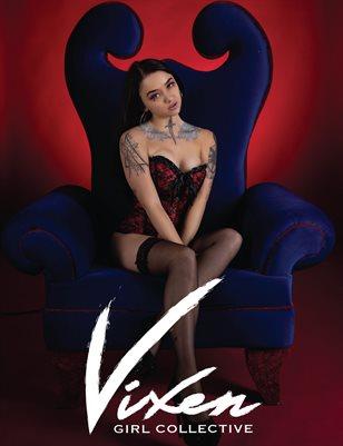 Vixen Girl Collective Magazine Feb 2021 Erotic Issue vol 2