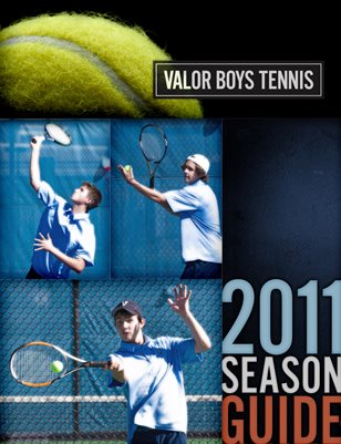2011 Boys Tennis Media Guide