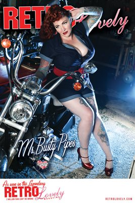 Ms. Busty Pipes Cover Poster