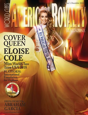 World Class American Royalty Magazine Issue 3 with Eloise Cole