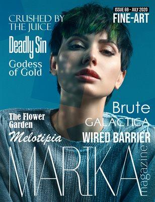 MARIKA MAGAZINE FINE-ART (July - issue 69)