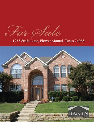 1933 Strait Lane, Flower Mound, Texas 75028