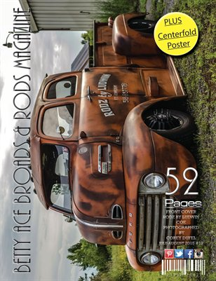 Betty Ace Broads & Rods Magazine July-August 2015 Vol:#12