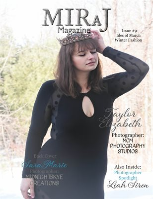 Miraj Magazine-#9 Winter Fashion Issue 2019 - Taylor Cover
