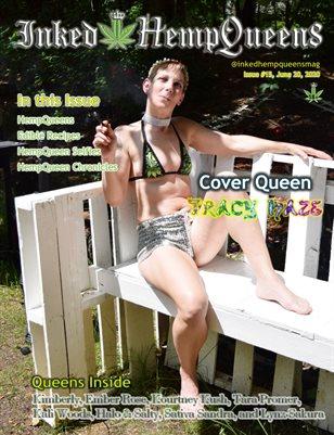 Inked HempQueens Magazine ~ Issue 15 ~ Tracy Haze