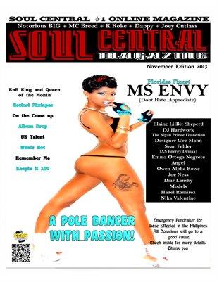 Soul Central Magazine November Edition