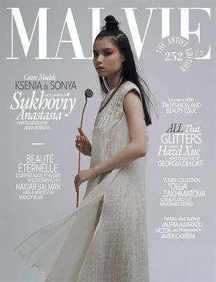 MALVIE Magazine The Artist Edition Vol 252 July 2021