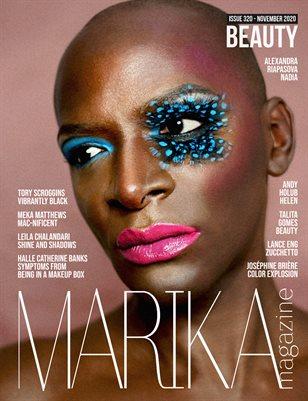 MARIKA MAGAZINE BEAUTY (NOVEMBER - ISSUE 320)