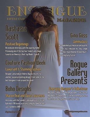 Entrigue Magazine September 2013