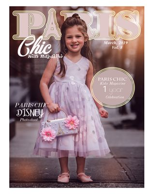 Paris Chic kids magazine march 4