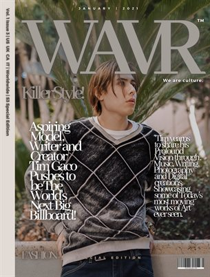 Tim Gaco WAVR Mag Special Edition January 21' Issue (Printed Magazine)