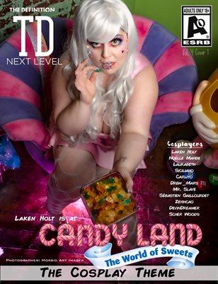 TDM Laken Holt Cosplay Vol 4 Cover1