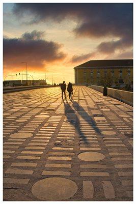 Poster - Lisbon Sunset