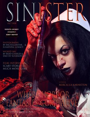SINISTER Magazine-Issue #1-Mircalla Karnstein Cover