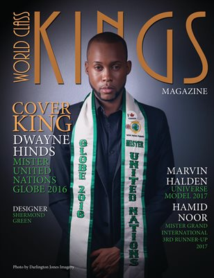 World Class Kings Magazine with Dwayne Hinds