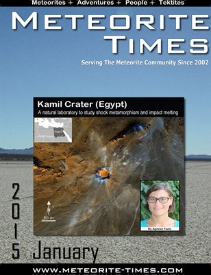 Meteorite Times Magazine - January 2015 Issue