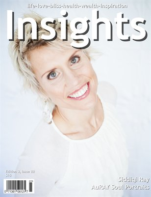 Insights Magazine featuring Siddiqi Ray