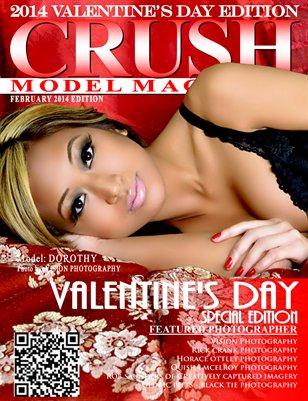 CRUSH Model Magazine 2014 Valentine's Day Edition
