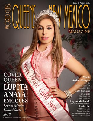 World Class Queens of New Mexico Magazine Issue 1 with Lupita Anaya Enríquez