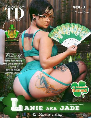 The Definition: Lanie  aka Jade St. Patrick Day Vol3 cover1