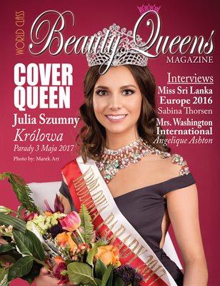 World Class Beauty Queens Magazine with Julia Szumny