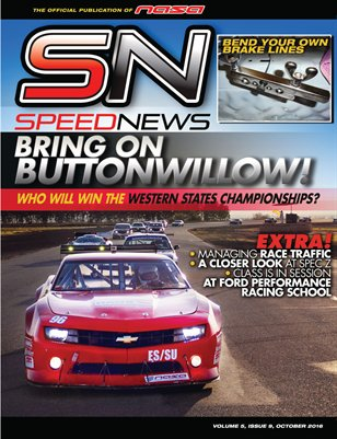 NASA Speed News October Issue 2016