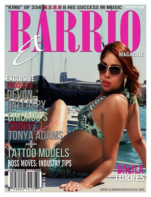 Sept/Nov 2013 issue ft Dalila Torres