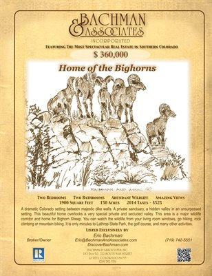 Home of the Bighorns 4 page
