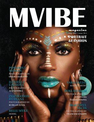 MVIBEmagazine August 2021 issue 26.1 Portrait|Fashion