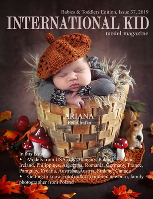 International Kid Model Magazine Babies and Toddlers Edition, Issue 37