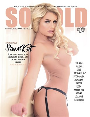 SO KOLD MAGAZINE 12 (FEBRUARY 2019) COVER MODEL - SAMIKAT