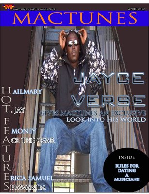 MACTUNES MAGAZINE APRIL ISSUE 2012