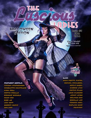 The Luscious Ladies Vol #3 Fall Halloween Edition