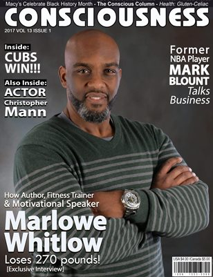 Marlowe Whitlow featured on Cover of Consciousness Magazine
