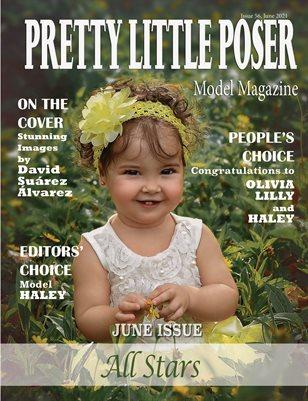Pretty Little Poser Model Magazine - Issue 56 - All Stars - June 2021