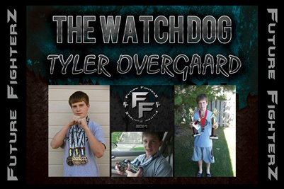 Tyler THE WATCH DOG Overgaard Poster