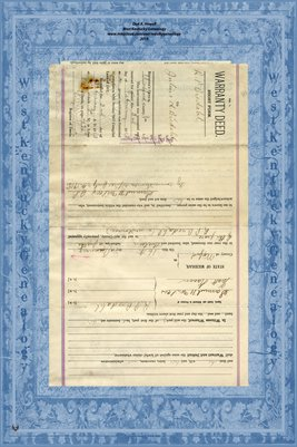 (PAGE 3 ) 1913 Wilford County, Michigan, Warranty Deed, R.P. Bredahl to Juluis Bredahl