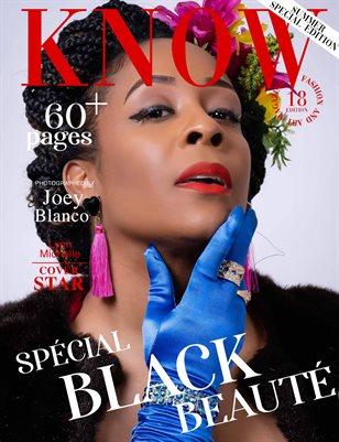 KNOW Magazine Spécial Black Beauté June 2021_LynnNew Publication