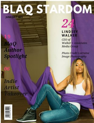 June/July Isuse of BlaQ Stardom Magazine