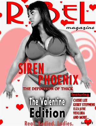 Rybel Magazine Valentine Edition Siren Cover