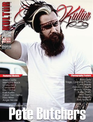 Kultur Magazine TATTOO Special - TATTOO Kultur VOL 11.4