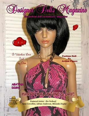 Designer Dolls Magazine - February 2014