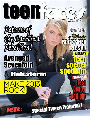 TeenFaces Magazine Winter 2013