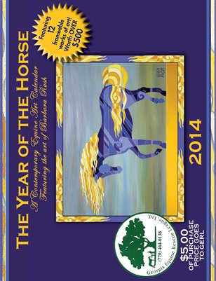 2014 Georgia Equine Rescue League Sponsored Calendar