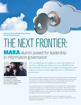 The Next Frontier: MARA alumni poised for leadership in information governance