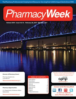 Pharmacy Week, Volume XXVI - Issue 9 & 10 - February 26, 2017 - March 4, 2017