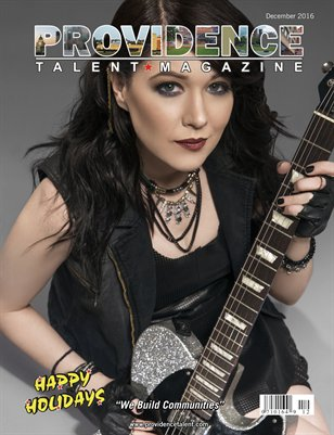 Providence Talent Magazine December 2016 Edition