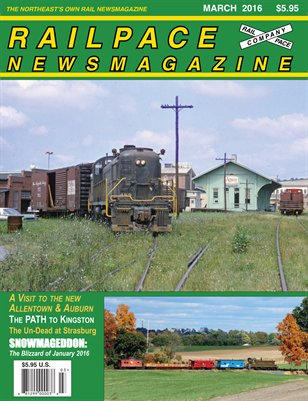 MARCH 2016 Railpace Newsmagazine