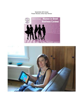November Women in Small Business Contest Winner