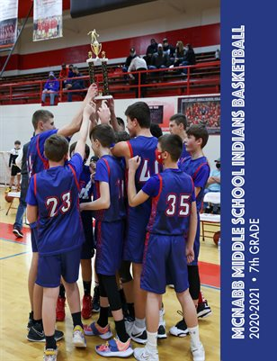 McNabb Boys Basketball 7th Grade Season in Review 2020-2021